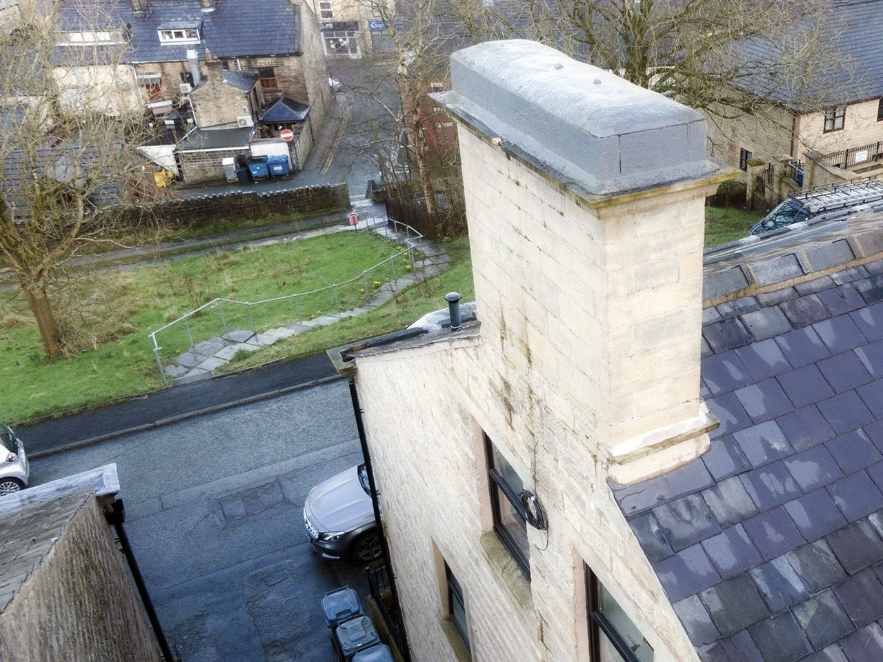Chimney Stack (Before)